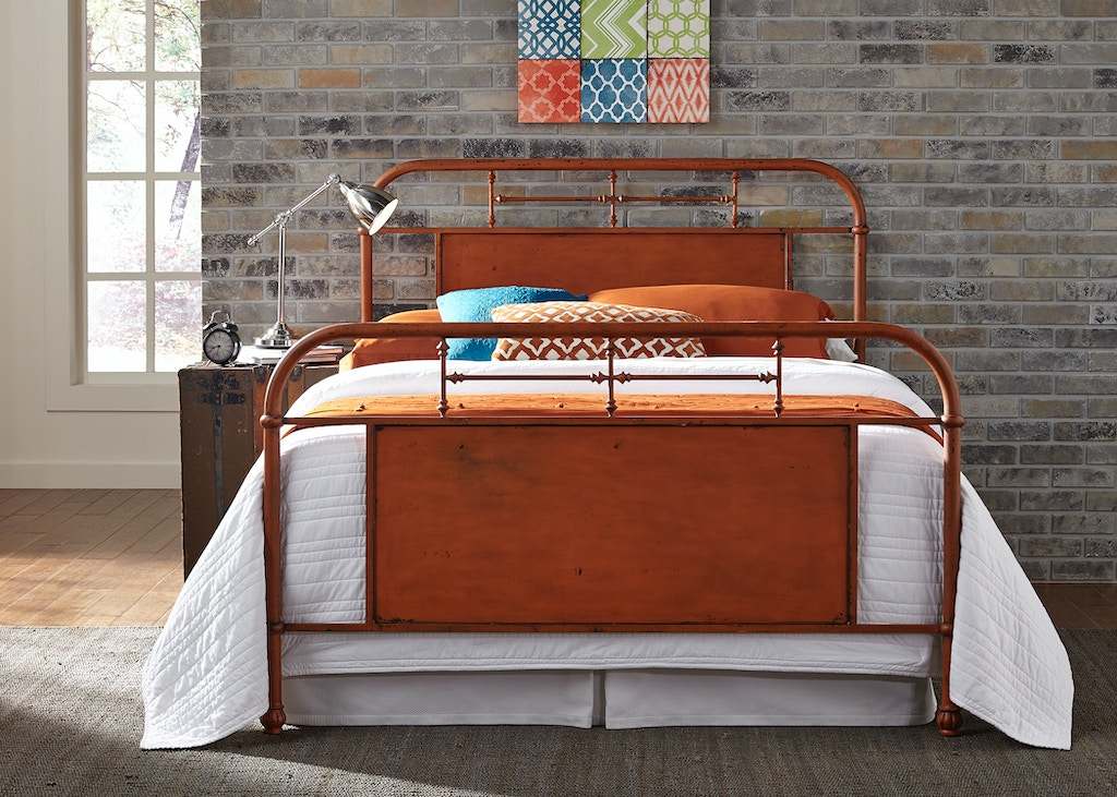 Outstanding Liberty Furniture Youth Twin Metal Headboard Orange 179 Home Interior And Landscaping Eliaenasavecom