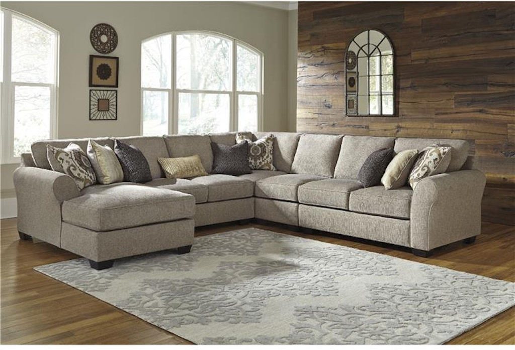 Signature Design By Ashley Living Room Sectional 39102xx Dewey