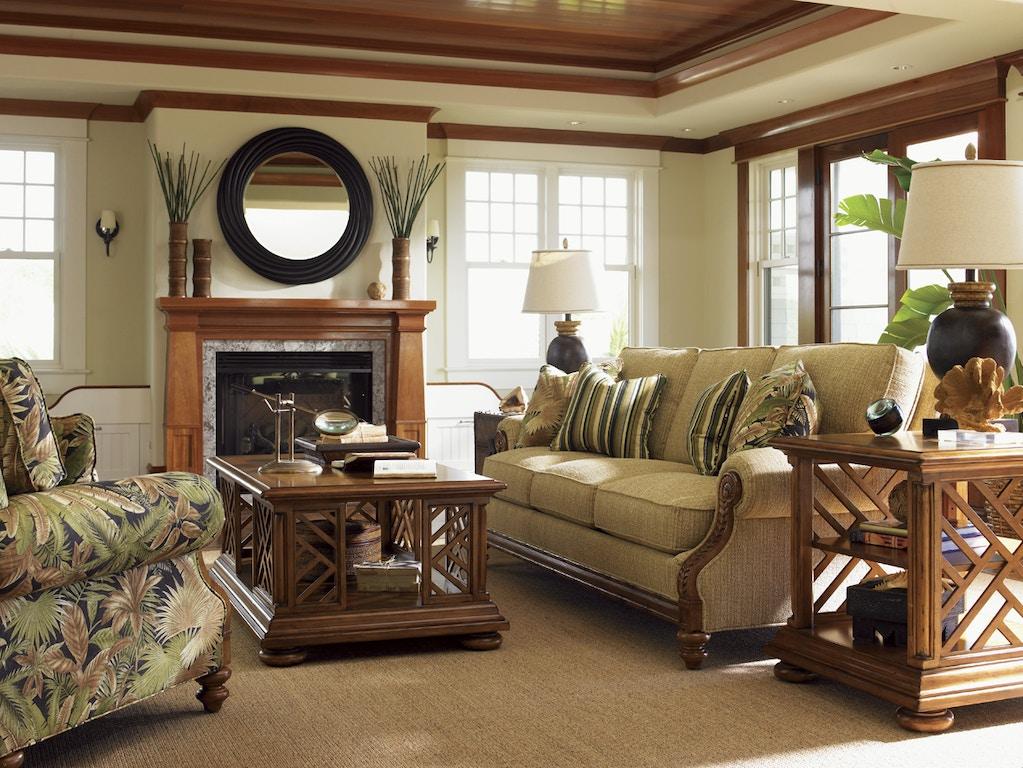 Tommy Bahama Home 7921 33 Living Room West Shore Sofa
