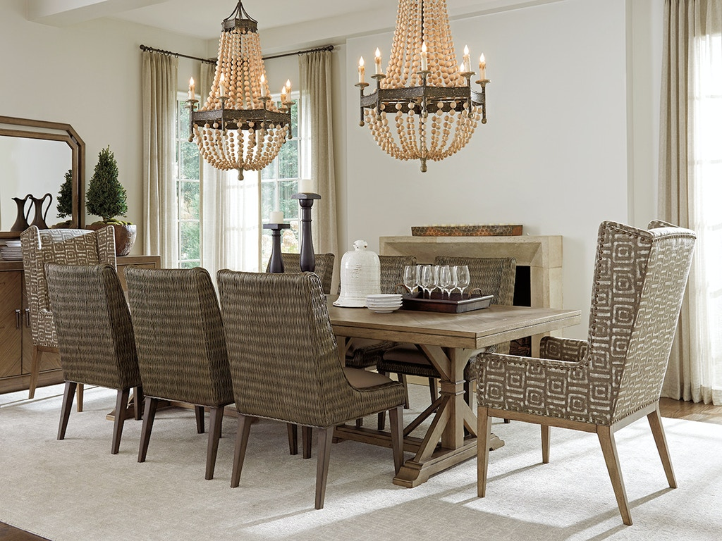 Tommy Bahama Home 561-876C Dining Room Pierpoint Double ...