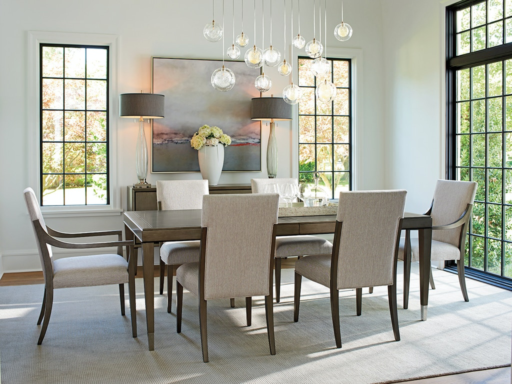 Lexington furniture chateau rectangular dining table 732 877