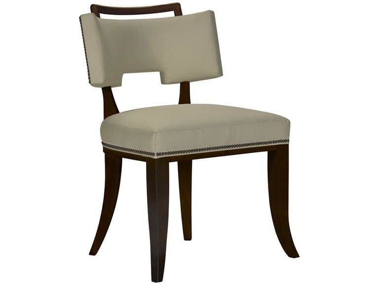 Hickory Chair 3409 02 Dining Room Saint Giorgio Dining Chair W Handle