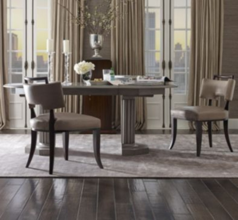 Hickory Chair 3442-10 David Phoenix Eden Roc Dining Table