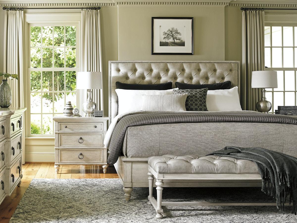 Delicieux Lexington Furniture Sag Harbor Tufted Upholstered Bed 6/6 King 714 134C