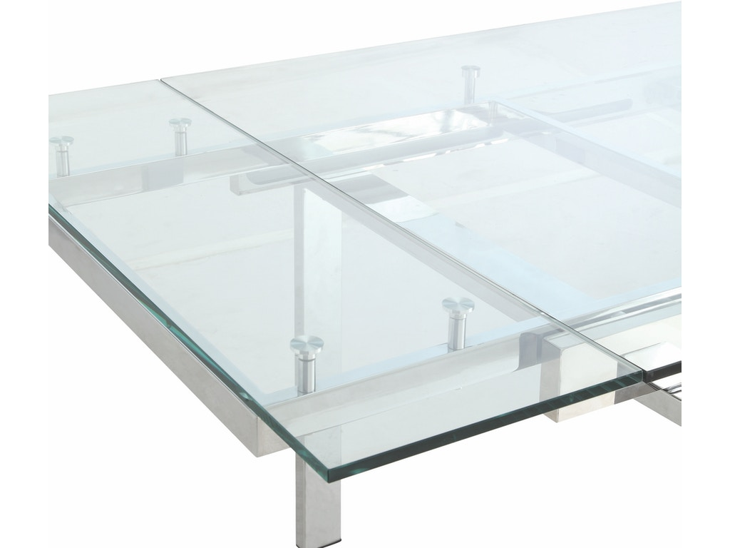Modern Glass Dining Table Modern Dining Contemporary Glass Dining Table With Leaves