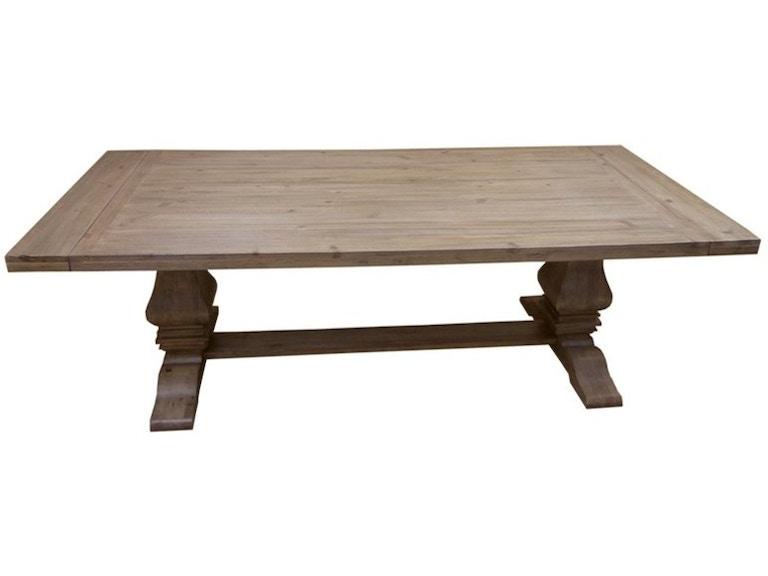 Coaster Florence Rectangular Double Pedestal Dining Table 180201