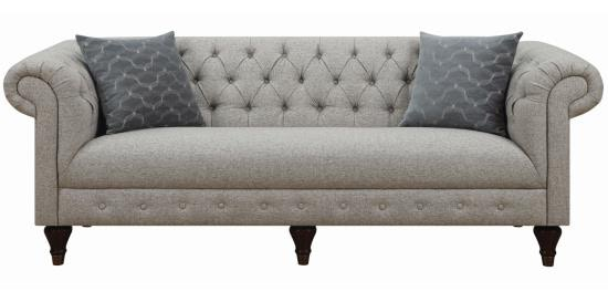 bench seat sofa. Coaster Tufted Sofa With Bench Seat By Donny Osmond 505551
