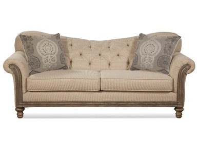 Hughes Furniture Serta 8725 Sofa 8725S