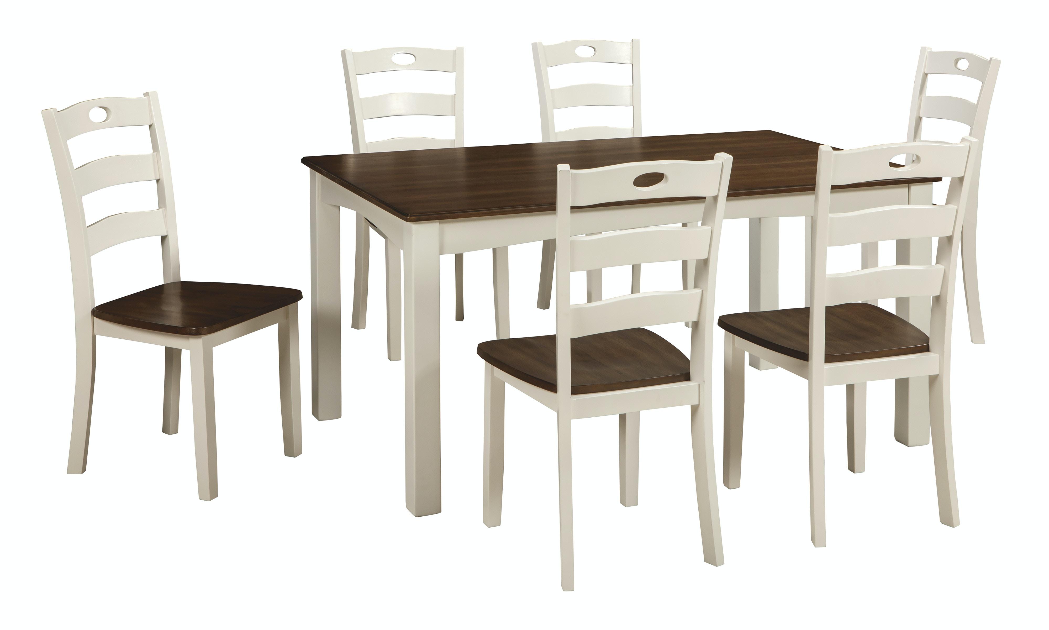 D335 425. Woodanville Dining Room Table ...