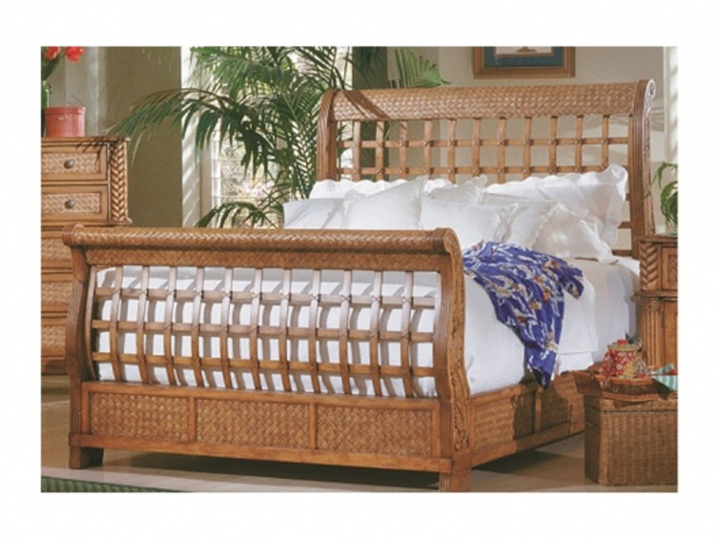 Progressive Furniture Palm Court Sleigh Bed Queen 1416 80