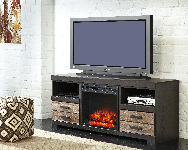harlinton lg tv stand w fireplace option