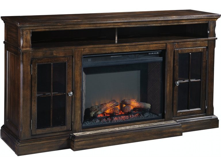 Signature Design By Ashley Roddinton Xl Tv Stand W Fireplace Option W701 88