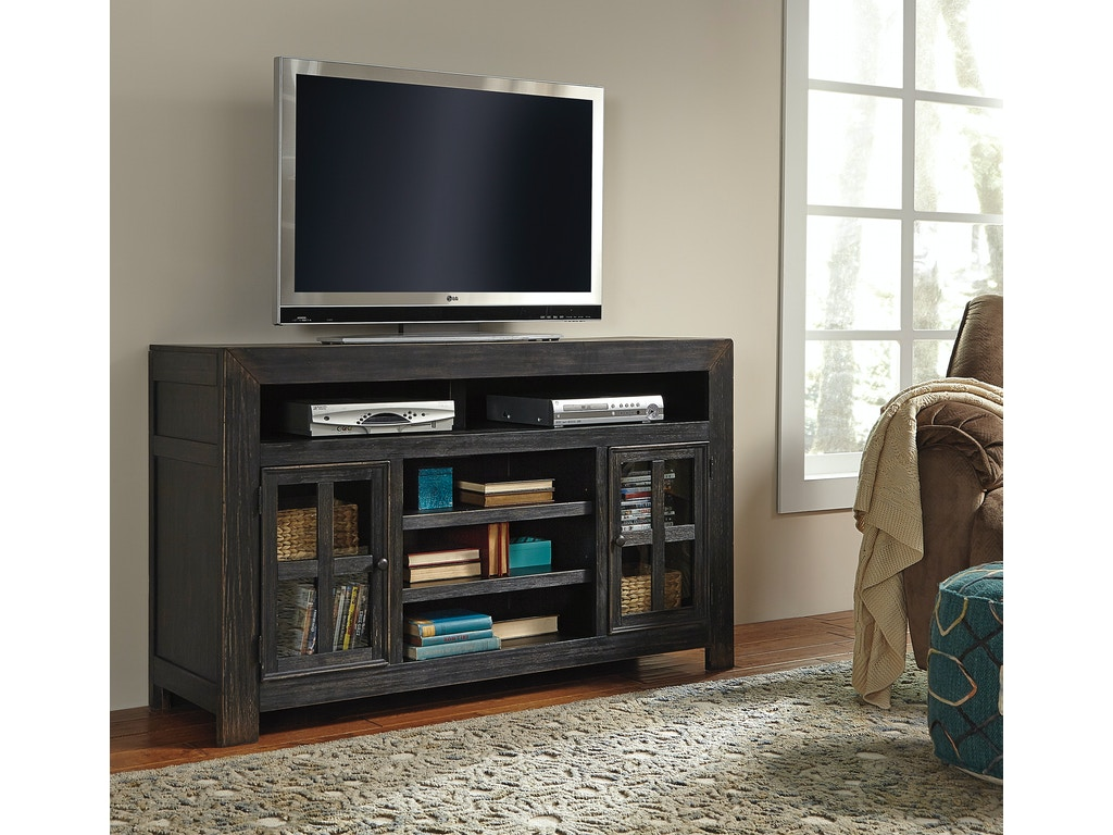Gavelston lg tv stand w fireplace option for Fireplace options