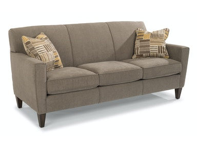 Flexsteel Fabric Three-Cushion Sofa 5966-31