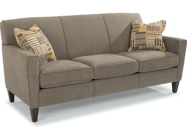 Flexsteel Fabric Three Cushion Sofa 5966 31