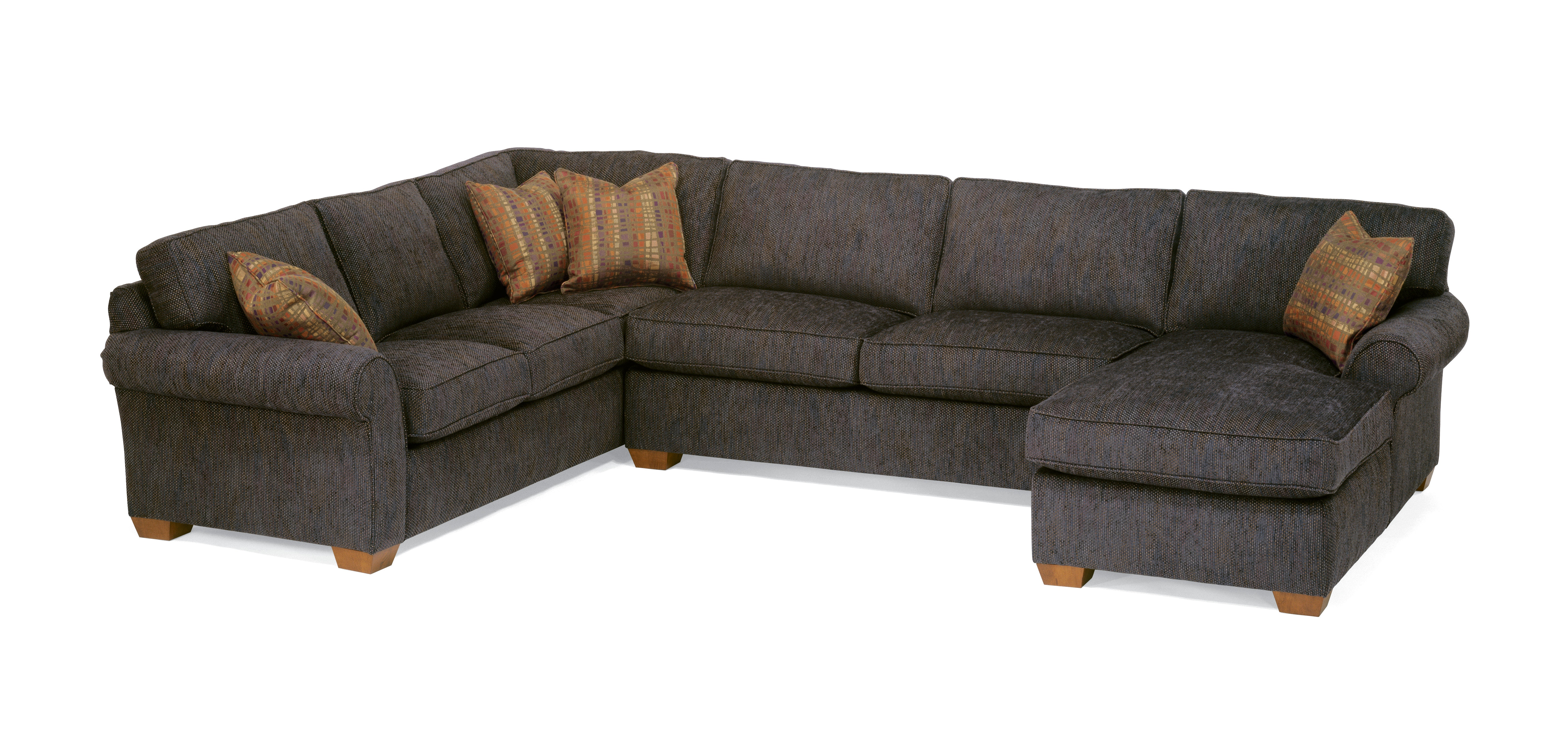 Flexsteel Vail Fabric Sectional 7305 SECT