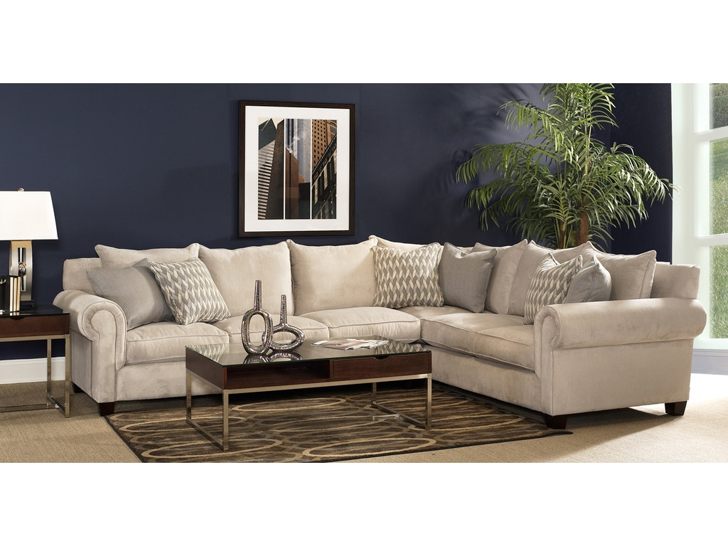 Fairmont Designs Living Room Addison Sectional D3560 Sect