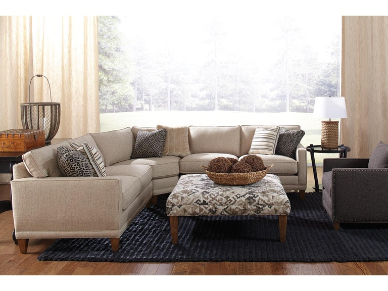 Rowe Living Room Townsend Sectional K628 Sect At Interior Furniture Resources