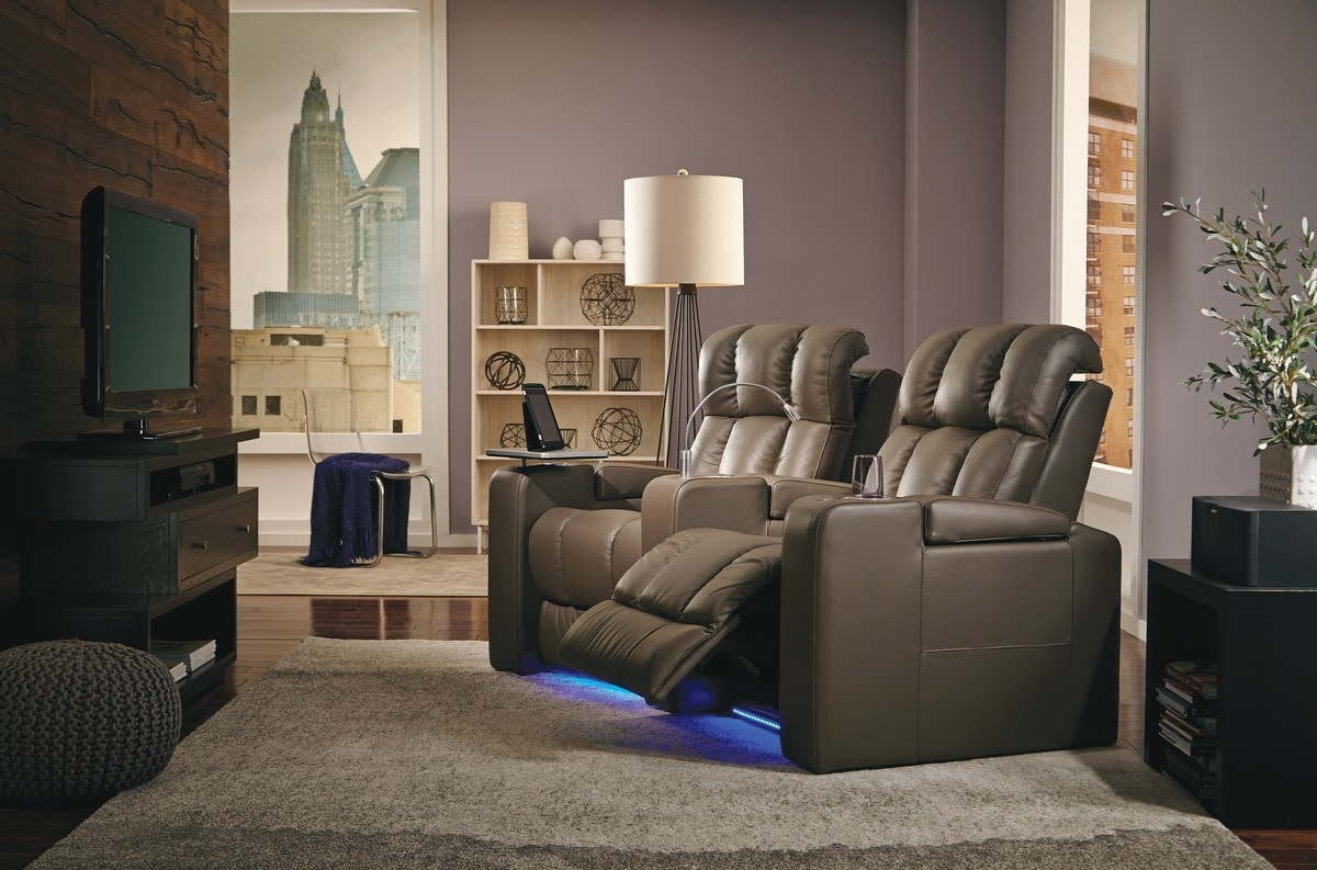 Charmant Palliser Furniture Home Entertainment Ovation Power Recliner Theatre  Seating At Tyndall Furniture U0026 Mattress