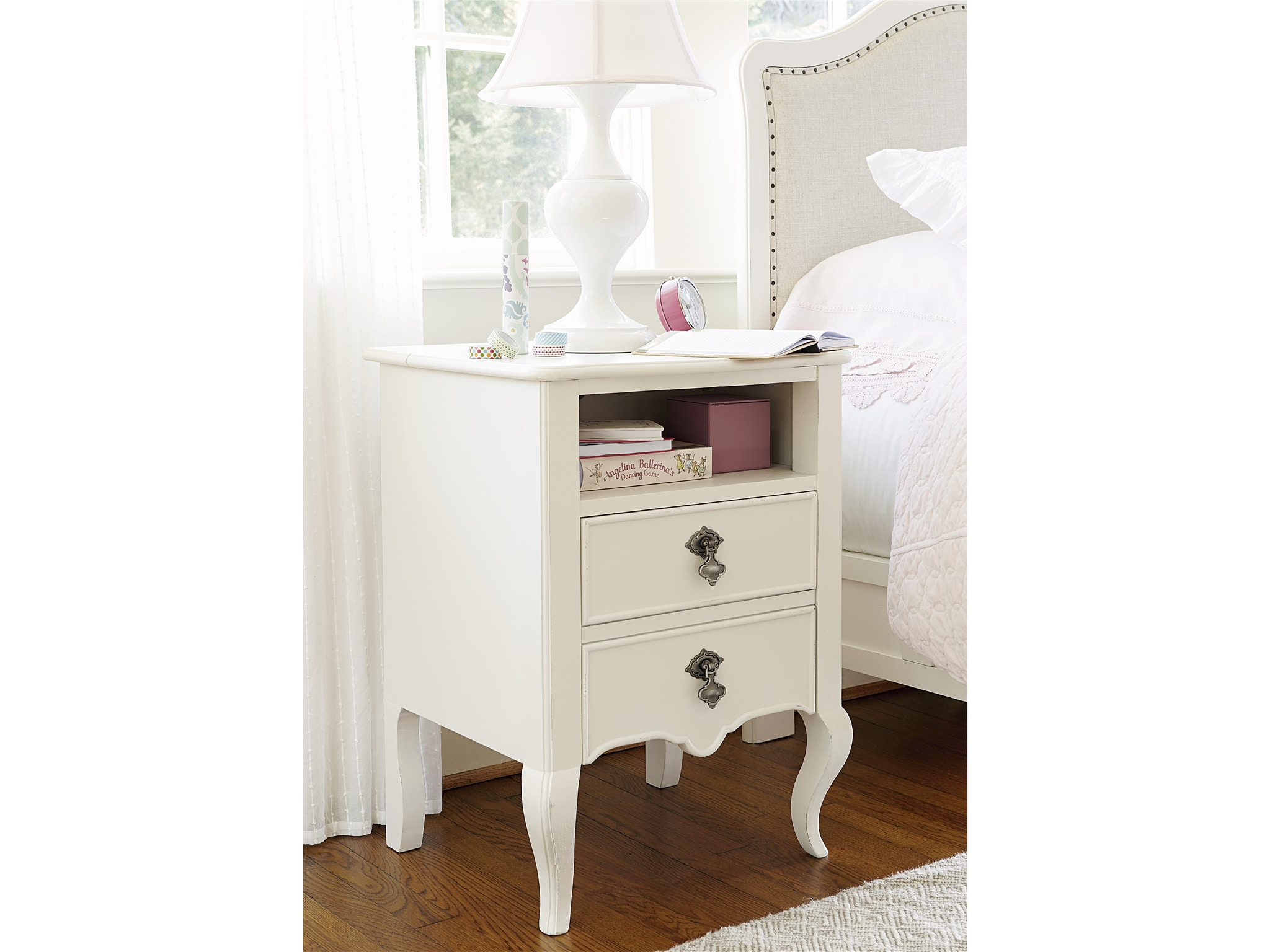 Smartstuff by Universal Youth Genevieve Nightstand 434A080