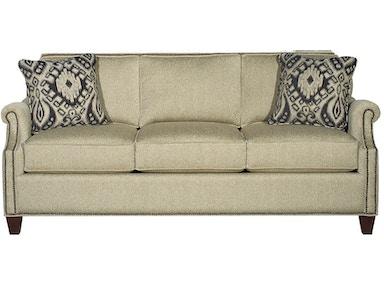 Craftmaster Living Room Taj Mahal Sofa 737750 Norwood