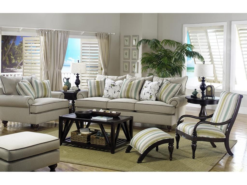 Paula Deen By Craftmaster Living Room Sofa P711750bd Norwood Furniture