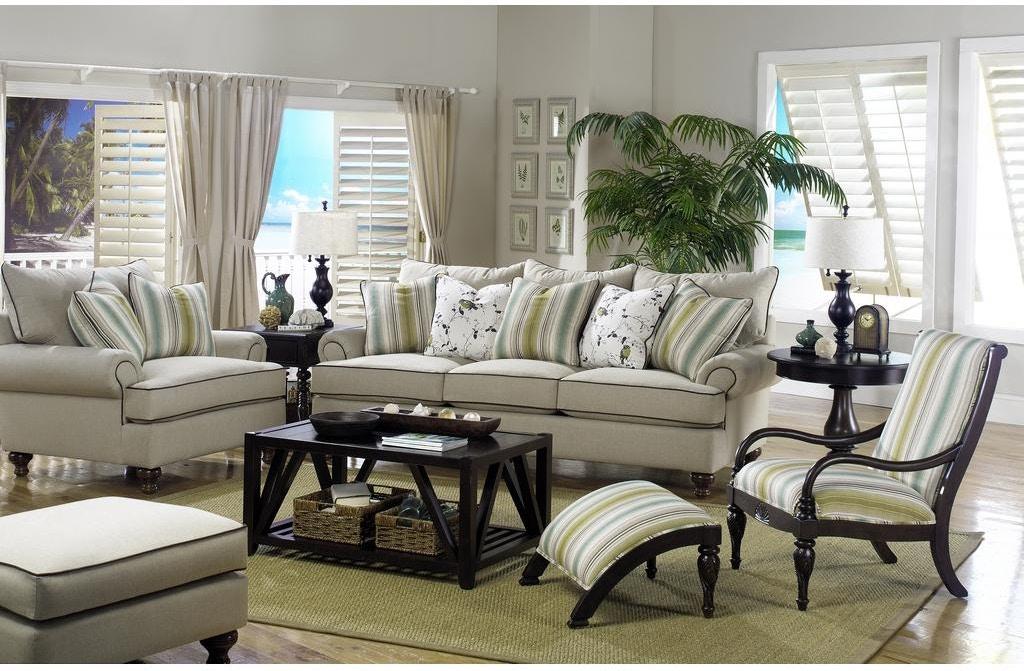 Paula Deen by Craftmaster Living Room Sofa P711750BD ...