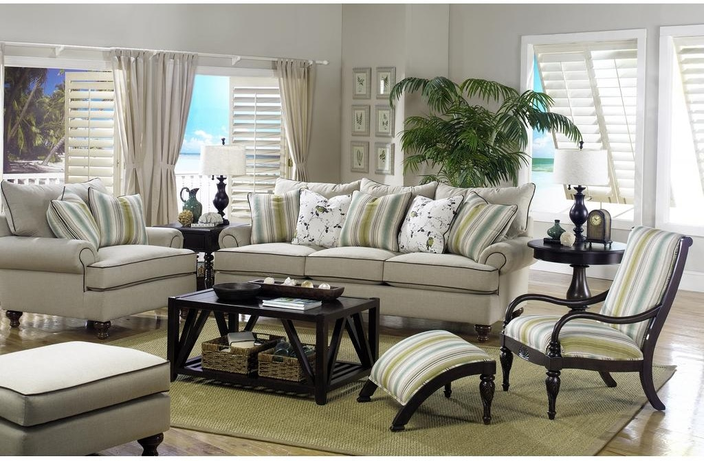 Paula Deen by Craftmaster Living Room Sofa P15BD - Norwood