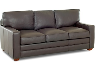 Klaussner Selection All Leather Sofa