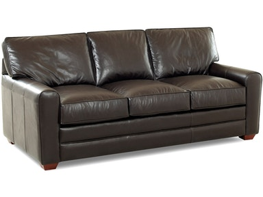 Klaussner Hybrid All Leather Sofa