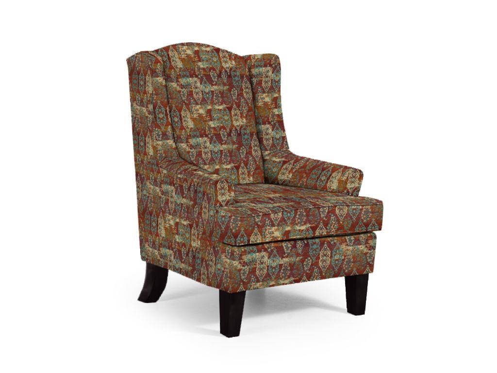 Best Home Furnishings Andrea Modern Wing Chair 053639
