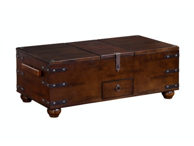 Santa Fe Trunk Cocktail Table 041211
