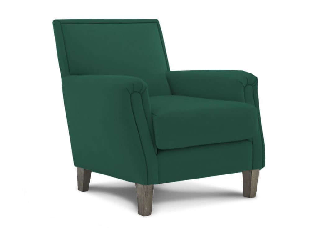 Best Home Furnishings Madelyn Navy Club Chair 052092