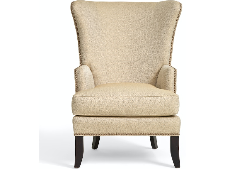 Modern Sand Cheetah Wingback Chair ST:372357 - Modern Sand Cheetah Wing Chair Star Furniture Of Texas