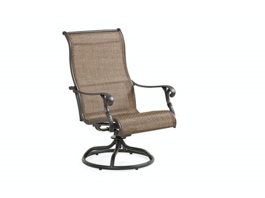 Bridgeport Swivel Rocking Dining Arm Chair - Sling