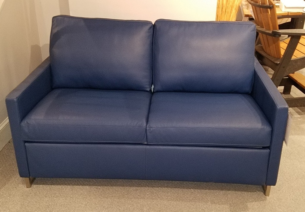 American Leather Living Room Two Cushion Full Size Comfort