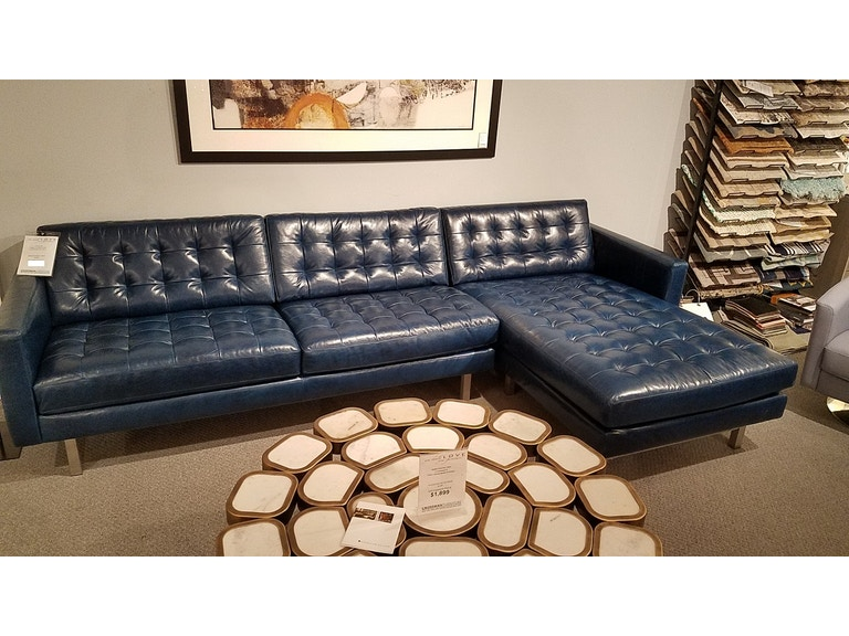 American Leather Parker Sectional