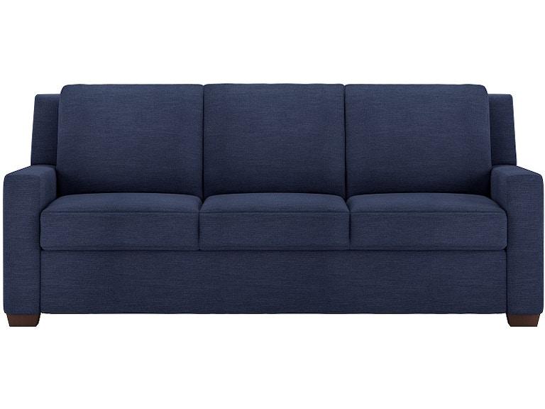 Marvelous American Leather Living Room Two Cushion Comfort Sleeper Sofa Lyo So2 Qs Theyellowbook Wood Chair Design Ideas Theyellowbookinfo