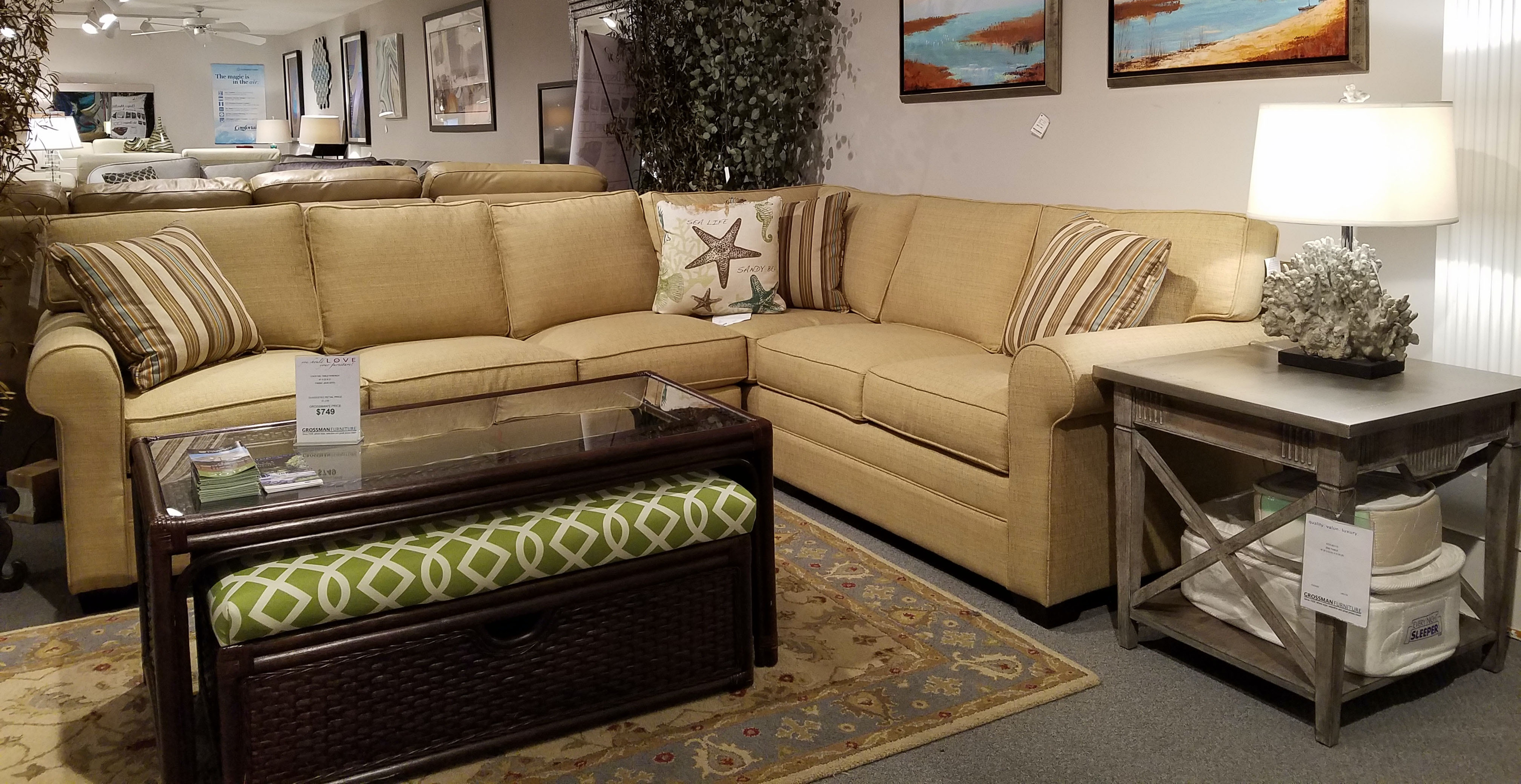 Braxton Culler Bedford Sectional 728 SECTIONAL Large