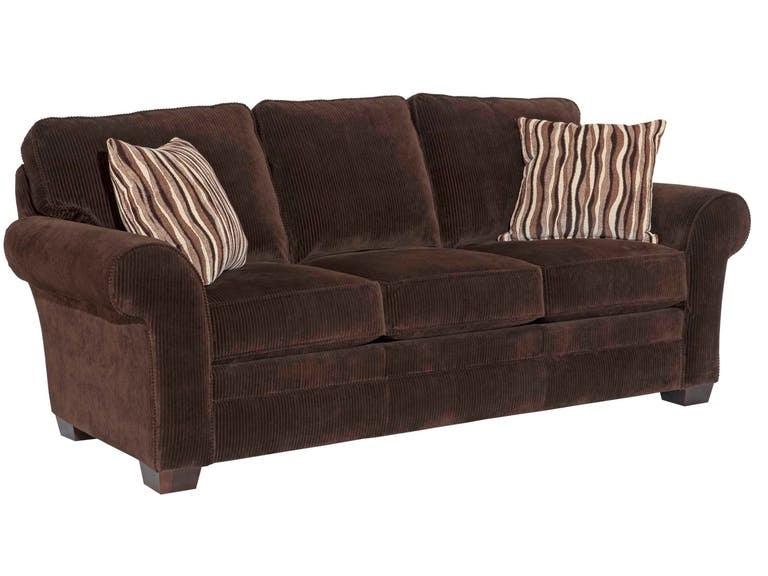 Broyhill Zachary Leather Sofa L7902 3Q
