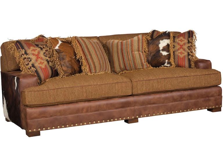 King Hickory Living Room Casbah Leather Fabric Sofa 1100-TBM-LF ...