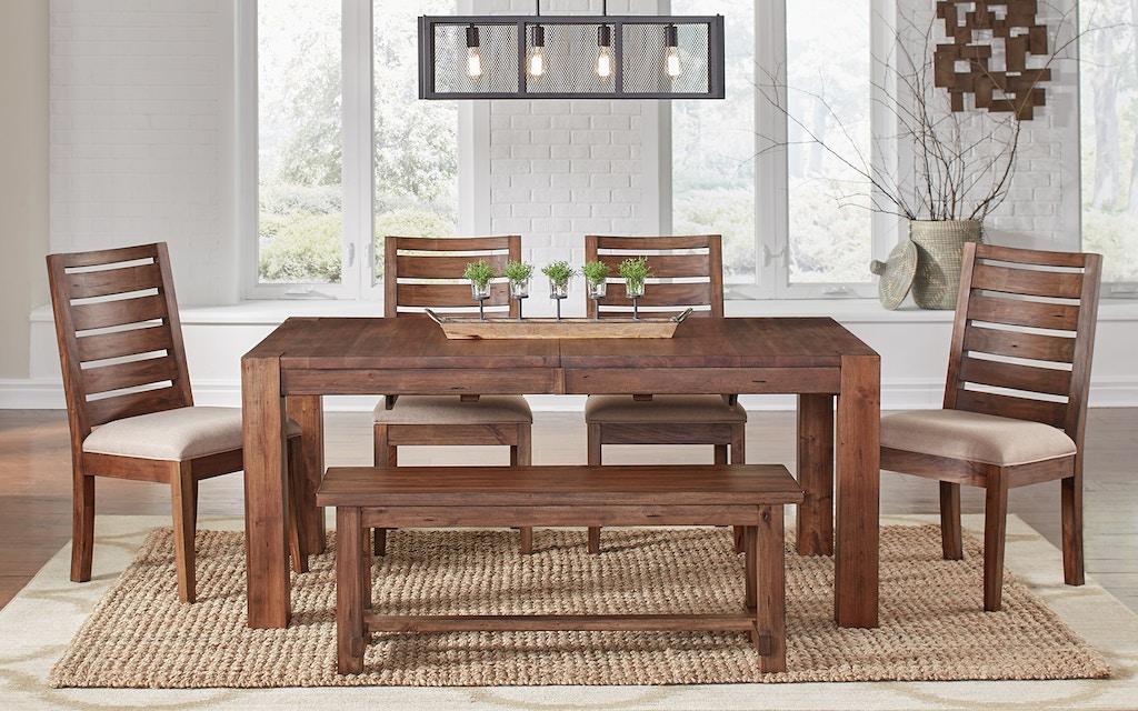 Rustic/ Modern Leg Extension Table, solid mahogany