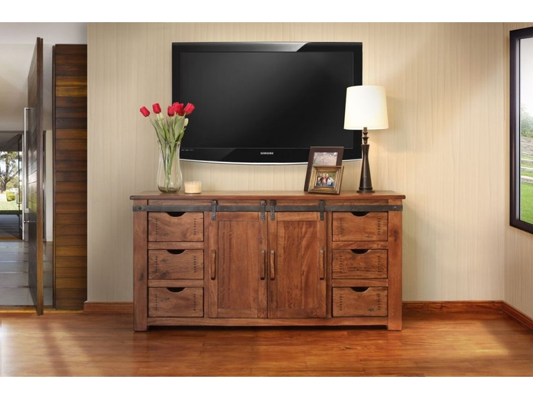 International Furniture Direct Home Entertainment 60 Tv Stand With