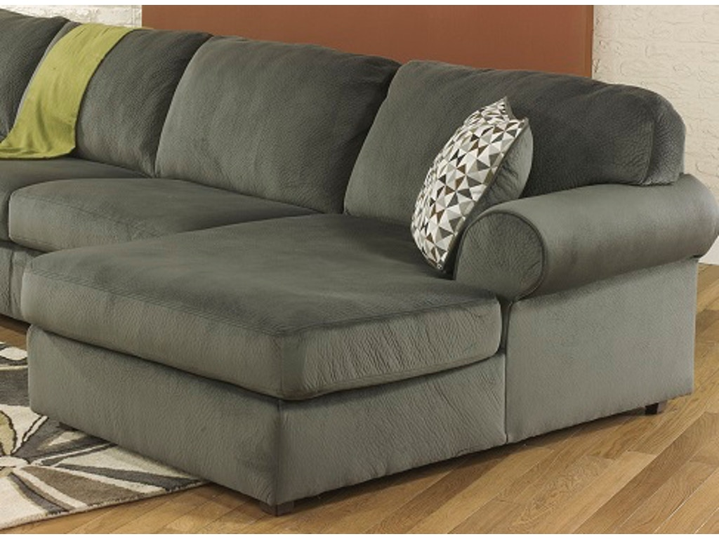 Signature design by ashley living room raf corner chaise for Ashley chaise recliner