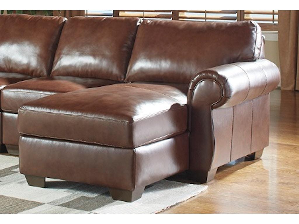 Signature Design By Ashley Living Room Raf Corner Chaise 5060217 Robinson 39 S Furniture Oxford Pa