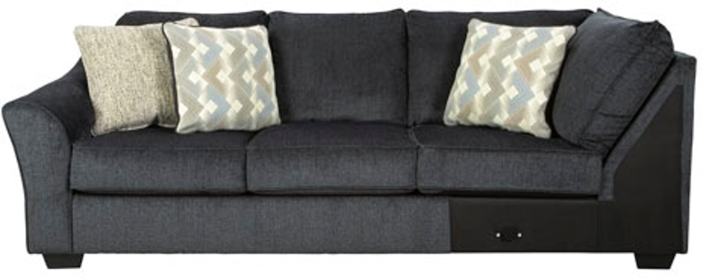 Signature Design By Ashley Living Room Eltmann Left Arm Facing Sofa With Corner Wedge Fulton