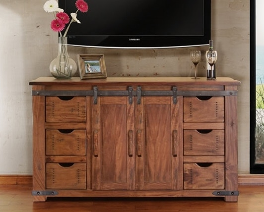 International Furniture Direct Home Entertainment 60 Tv Stand