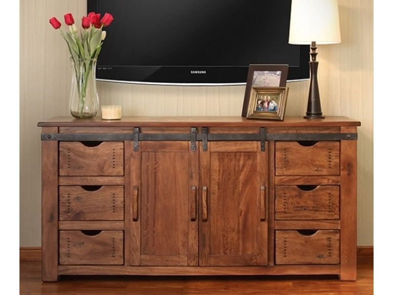International Furniture Direct Home Entertainment 70 Tv Stand