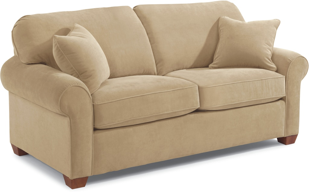 Surprising Flexsteel Living Room Fabric Loveseat 5535 20 Loves Creativecarmelina Interior Chair Design Creativecarmelinacom