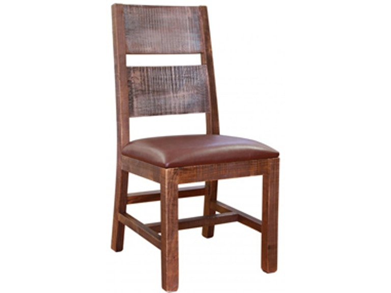 International Furniture Direct Side Chair Antique Multicolor 807771 - International Furniture Direct Dining Room Side Chair Antique